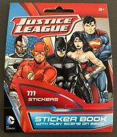 DC Comics Justice League JLA Sticker Book 111 Stickers Batman Superman New 52