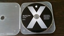 Mac OS X Tiger - Install DVD, Includes Xcode 2