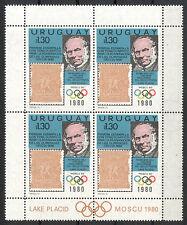 Uruguay Michelnummer Kleinbogen 1538 postfrisch ( Übersee : 836 )
