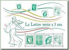 """TIMBRE FRANCE NEUF 2014 """"la lettre verte à 3 ans"""" Y&T f 4908"""