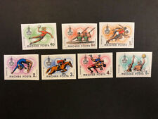 Hungary Scott No. C418-24 MNH Imperforate Imperf Imp 22nd Summer Olympics Sports