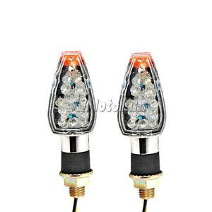 2PCS 14LED TURN SIGNALS INDICATORS  For Suzuki Boulevard M109R M50 M90 M95 C50