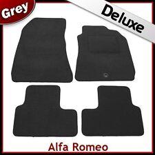 Alfa Romeo 159 Saloon Tailored LUXURY 1300g Car Mat GREY