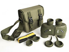 Bostron 7x50 military marine waterproof binoculars with large eyepieces