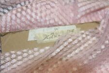 """2.5 Yards Lingerie Lace Fabric-VERY SOFT-54""""Wide-PINK-70% Rayon 30% Nylon"""