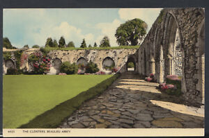 Hampshire Postcard - The Cloisters, Beaulieu Abbey     RS9426