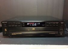SONY CDP-C315 5 CD Compact Disc Multi Player Carousel Changer Home Audio