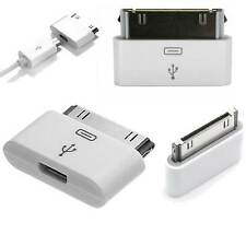 ADATTATORE DA MICRO USB A DOCK 30 PIN PER IPHONE 3G 3GS 4 4S IPAD 2 3 IPOD iOs 8