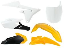 Kit Plastiche Yamaha YZF 250-450 2014=>2017 Giallo Yellow Plastics Kit Rtech