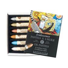 Sennelier 6 IRIDECENT Artists Oil Pastel Box Set. Artists Colour Oil Pastel Set