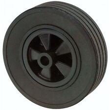 Galet de roue jockey - Plastique - Diamètre 220mm x 85 x 20 remorque - caravane