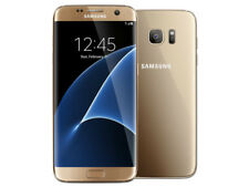 "5.5"" Samsung Galaxy S7 Edge G935A 32GB 4GB GSM AT&T Unlocked Smartphone Gold"