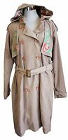 Blutsgeschwister Mantel Magic Decade Trench XS M L XL beige Trenchcoat Parka V8