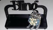 Crystals (180+) & VINTAGE BEADS Hair Claw Blues/Topaz/Opal!
