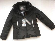 628cd98e147 ZeroXposur Down Ski Black Parka Jacket Coat Womens L Detachable Hood