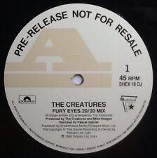 """Siouxsie The Creatures Fury Eyes NMint 12"""" DJ Sample Promo Demo Vinyl UK 1990"""