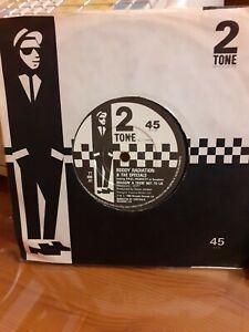 """Roddy Radiation & The Specials Braggin' & Tryin' Not To Lie 7"""" Vinyl"""