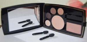 LANCOME Miel Glace Blush/Matte Buff Powder/4 Eye Shadows Complete Set For Travel