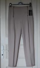 Tru Trussardi Pantalon à revers, ventre plat en tissu stretch T.38