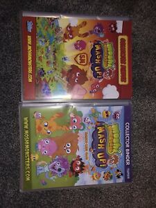 Moshi Monster Collecter Binders With Cards