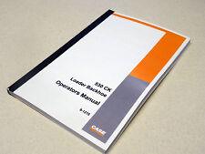 Case 530CK (530 CK) Loader Backhoe Operators Manual Owners Maintenance Book NEW