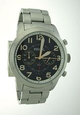 Fossil Men's Pilot 54 Series Chronograph Stainless Steel Watch FS5203