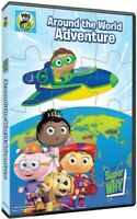 Super Why!: Around The World Adventure + Puzzle [New DVD]