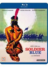 SOLDIER BLUE (1970) IMPORT Blu-Ray NEW Free Ship (Please Read Item Description)