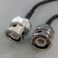 RG174 50ohm BNC Male to BNC Male Jumper Coaxial CABLE Video & CCTV Camera 3m