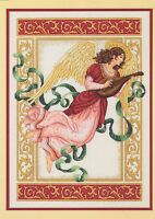 Angelic Melody Cross Stitch Kit Dimensions Gold Collection