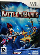BATTLE OF THE BANDS Nintendo WII WIIU U SWITCH Video Game Sealed UK Release