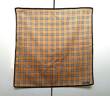 Burberrys Bandana Pocket Square Mini Scarf Handkerchief Neckerchief Nova Check *