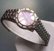 Ladies Genuine Maurice Lacroix Watch Diamond Swiss Roman 75416