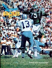 1965 Eagles v Cowboys Program 12/5 John Meyers Jerry Rhome Ex/MT 26876