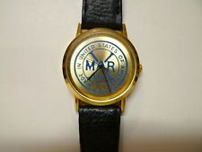 Vintage MARX TOYS MENS WATCH EMPLOYEE AWARD WRISTWATCH Toy Company RARE !!! USA