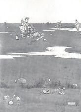 Heath Robinson: ajuste de pelotas de golf a revelar su paradero; 1975