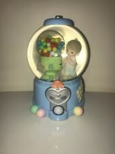 Precious Moments Count Your Many Blessings Gumball Toyland Musical Snow Globe