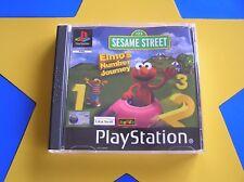 ELMO'S NUMBER JOURNEY - PLAYSTATION - PS