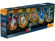 Aquarius Harry Potter Crests 1000pc Slim Puzzle