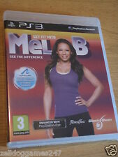 GET FIT WITH MEL B (PS3) BRAND NEW & SEALED