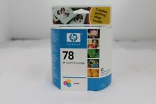 One HP 78 ~Tri-Color Ink Inkjet Cartridge Factory Sealed In package Exp 4/2006