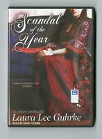 Scandal of the Year: by Laura Lee Guhrke:  MP3CD Audiobook