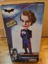 The Joker Head knocker The Dark Knight NECA Heath Ledger Bobblehead MIB