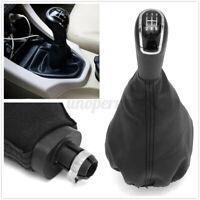 5 Speed Gear Stick Shift Knob& Gaiter Cover For Mercedes A Class W168 97-04