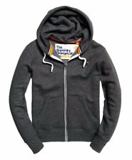 Superdry Orange Label Zip Up Hoody - Dark Grey, Navy - Size M - New With Tags