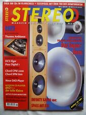 STEREO 6/98,ATC SM 50 ASL,MACKIE HR 824,AVANTGARDE ACOUSTIC TRIO,MISSION DAT 1
