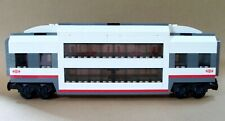LEGO Train Carriage CUSTOM Club Car Double Deck Passenger Sleeper For Set 60051