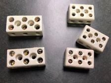 Ceramic Junction Block Barrier Strip Diffusion Pump And High Temp Application