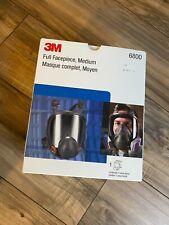 3M 6800 Full Facepiece Reusable Respirator Medium 4 of 8