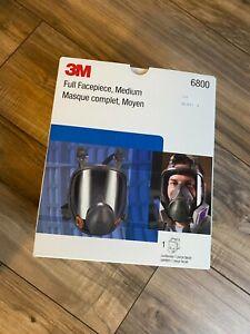 3M 6800 Full Facepiece Reusable Respirator Medium 8 of 8
